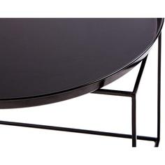 Okrągły stolik Ramme 63 czarny
