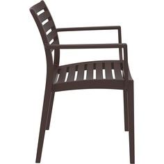 Krzesło ARTEMIS brązowe