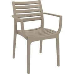 Krzesło ARTEMIS szarobrązowe
