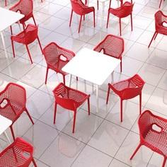 Krzesło AIR XL czerwone