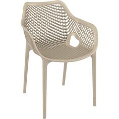 Krzesło AIR XL szarobrązowe