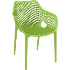 Krzesło AIR XL zielone tropikalne