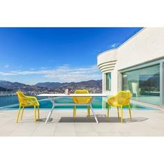 Krzesło AIR XL żółte