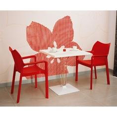 Krzesło DIVA czerwone