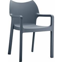 Krzesło DIVA ciemnoszare