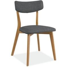 Krzesło Karl szary / dąb