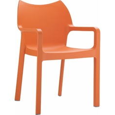 Krzesło DIVA pomarańczowe