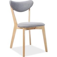 Tapicerowane krzesło Brando szare Signal