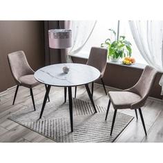Okrągły stół Ideal 100 marmur Signal