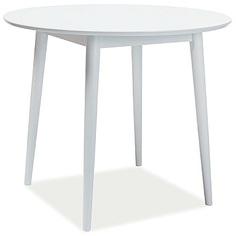 Okrągły stół Larson II 90 biały Signal