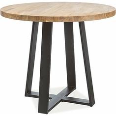 Okrągły stół Vasco Wood 90 dąb Signal