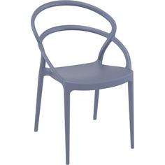 Krzesło PIA ciemnoszare