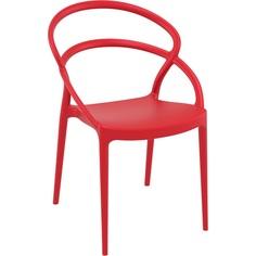 Krzesło PIA czerwone