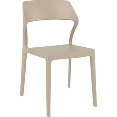 Krzesło SNOW szarobrązowe