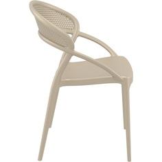 Krzesło SUNSET szarobrązowe