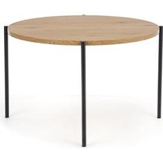 Okrągły stół Morgan 120 dąb złoty Halmar