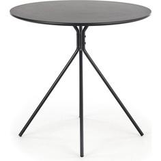 Okrągły stół Fondi 80 czarny Halmar