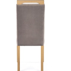 Tapicerowane krzesło Clarion dąb Halmar