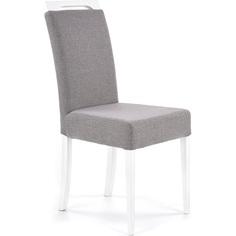 Tapicerowane krzesło Clarion II szare Halmar