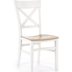 Drewniane krzesło Tutti białe Halmar