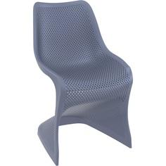 Krzesło BLOOM ciemnoszare