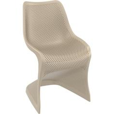 Krzesło BLOOM szarobrązowe