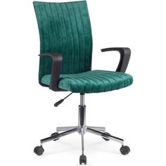 Fotel młodzieżowy Doral ciemno zielony Halmar