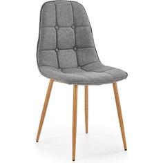 Tapicerowane krzesło K316 popiel Halmar