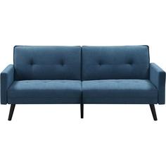 Rozkładana Sofa Corner niebieska Halmar