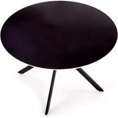 Okrągły stół Avelar 120 czarny Halmar