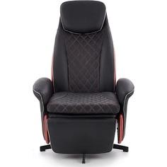 Rozkładany fotel wypoczynkowy Camaro czarny Halmar