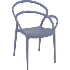 Krzesło MILA ciemnoszare