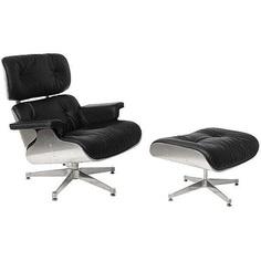 Fotel wypoczynkowy VIP z podnóżkiem D2.Design