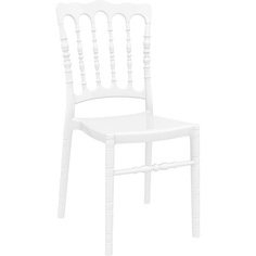 Krzesło OPERA lśniące białe