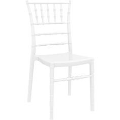 Krzesło CHIAVARI lśniące białe