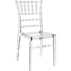 Krzesło CHIAVARI przezroczyste