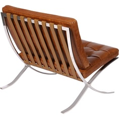 Fotel Barcelon Vintage jasny popiel D2.Design