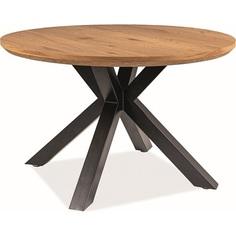 Stół okrągły Ritmo 120 dąb Signal