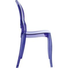 Krzesło BABY ELIZABETH fioletowe przezroczyste