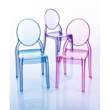 Krzesełko dziecięce BABY ELIZABETH fioletowe przezroczyste Siesta