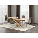 Stół rozkładany SANDOR 160x90 dąb złoty Halmar do jadalni, kuchni i salonu.