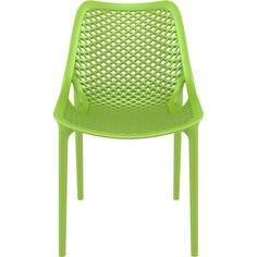 Krzesło AIR zielone tropikalne