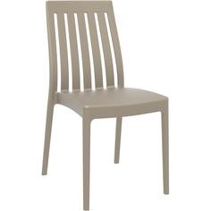 Krzesło SOHO szarobrązowe