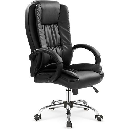 Fotel gabinetowy RELAX czarny Halmar