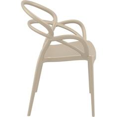 Krzesło MILA szarobrązowe