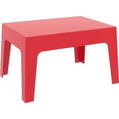 Stolik BOX TABLE czerwony