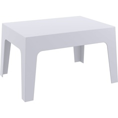 Stolik BOX TABLE srebrnoszary