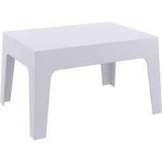 Stolik BOX TABLE srebrnoszary
