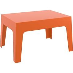 Stolik BOX TABLE pomarańczowy