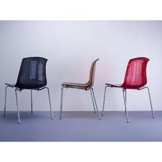 Krzesło ALLEGRA bursztynowe przezroczyste